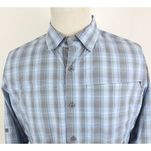 ExOfficio Large Vented Fishing Shirt Button Up L/S